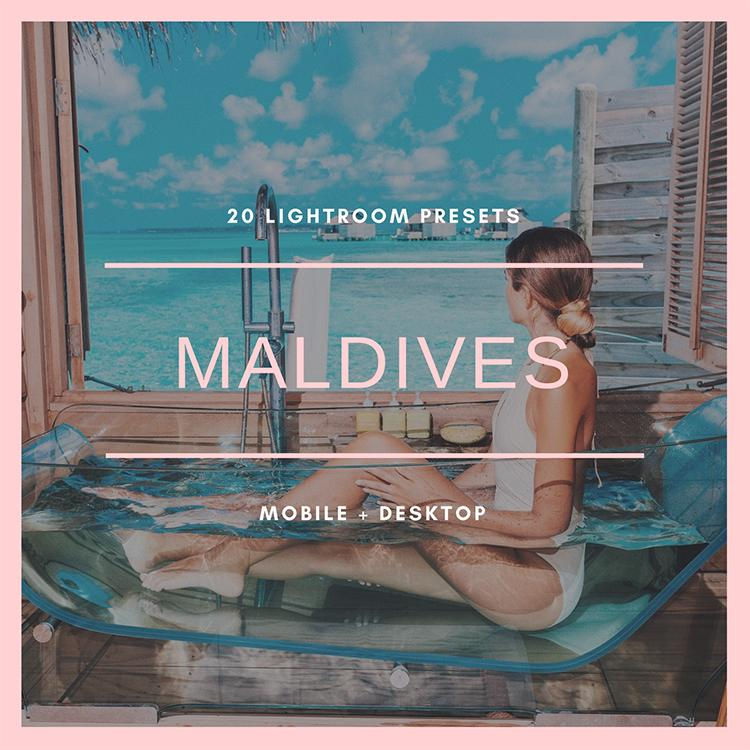 Maldives Collection (mobile + desktop)