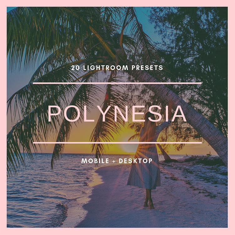 Polynesia Collection (mobile + desktop)