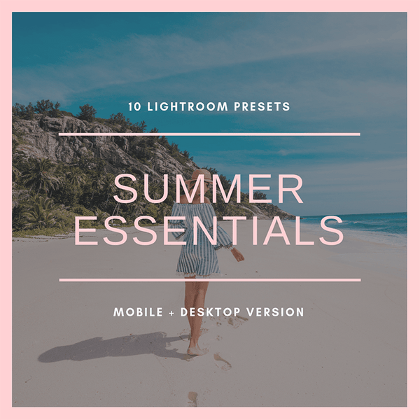 Summer Essentials (mobile + desktop)