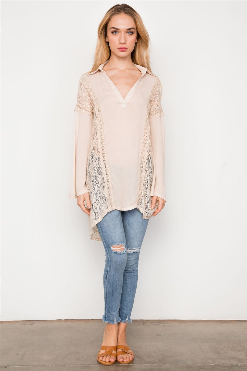 Easy Breeze Bell Tunic Top