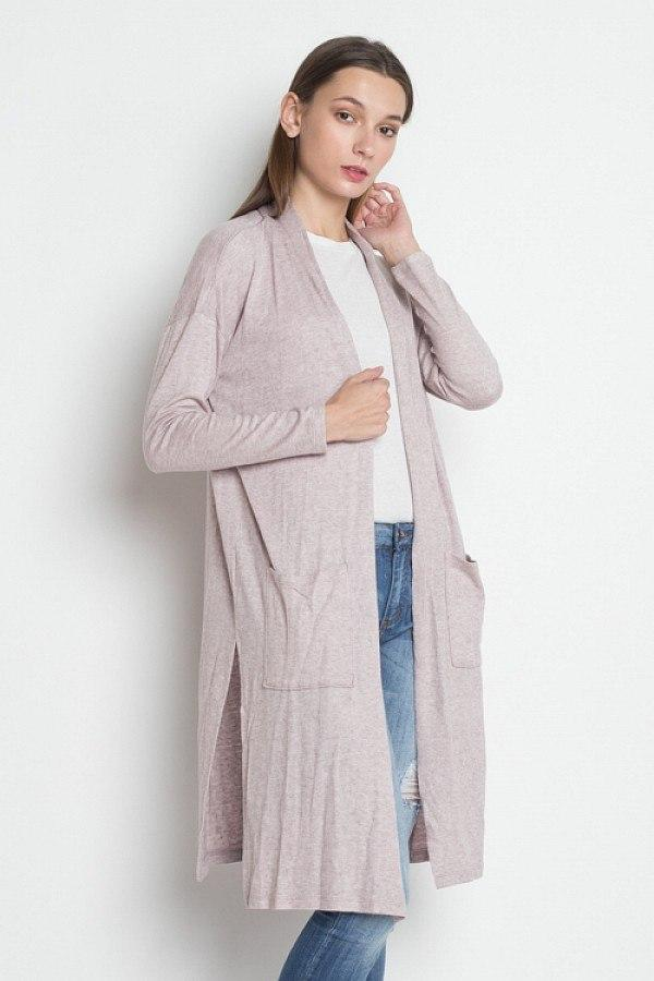 Dusty Pink / S Down The Street Pocket Cardigan