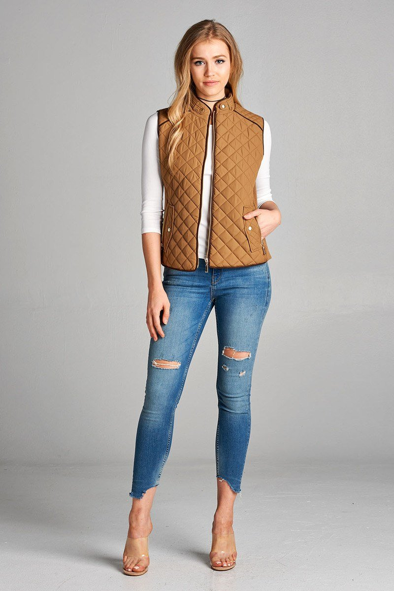 Quilted Padded Vest
