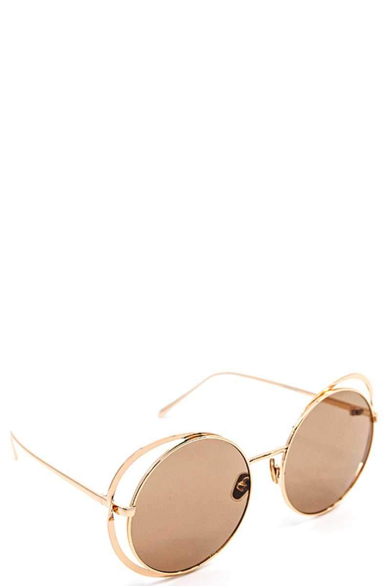 Brown Modern Sexy Sunglasses