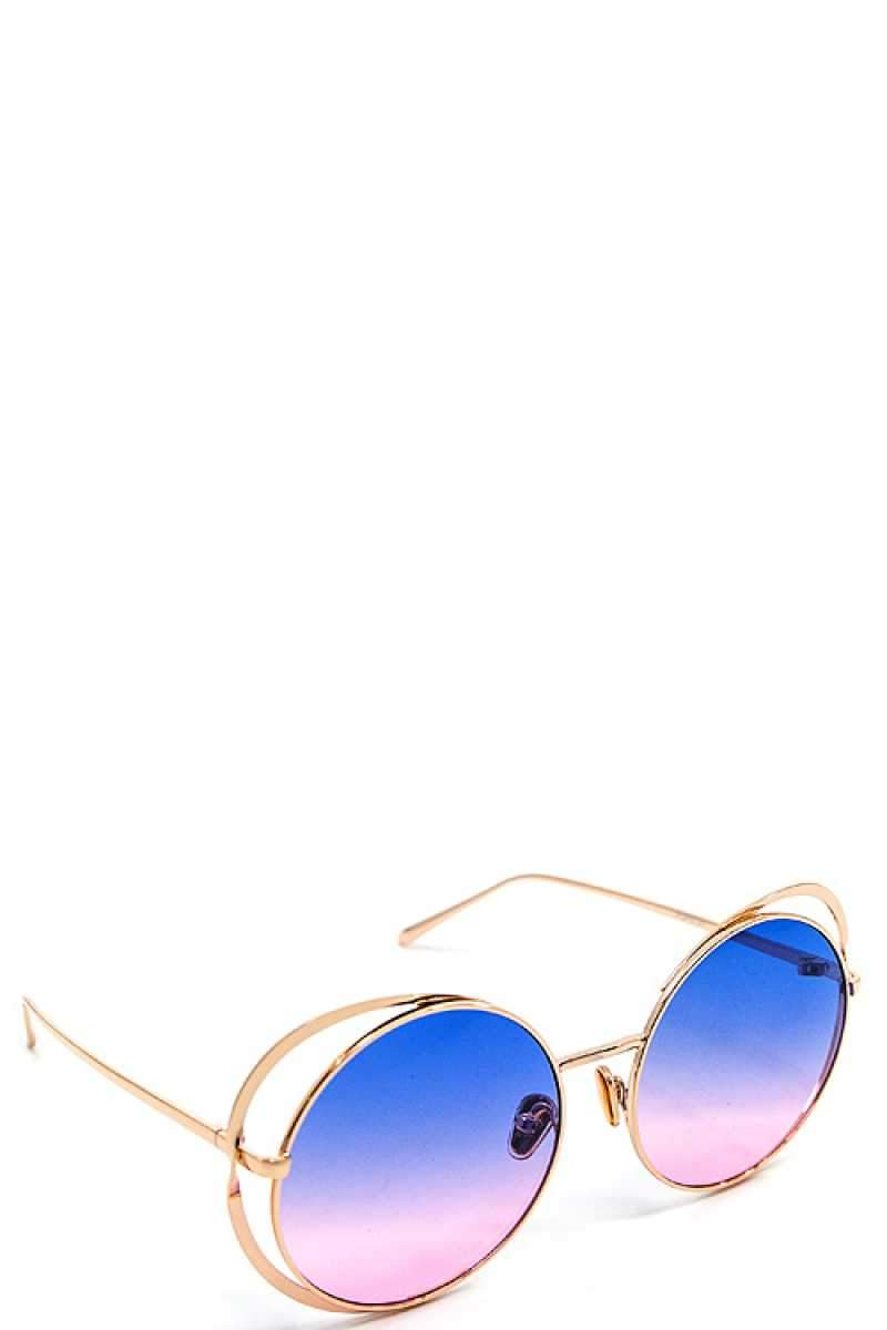 Blue Modern Sexy Sunglasses