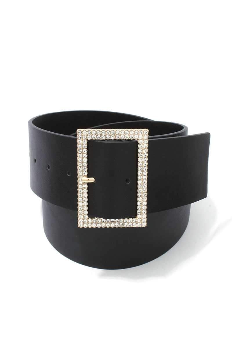 Black Chic Pearly Belt