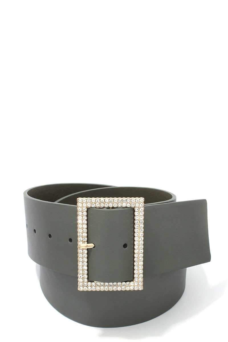 Olive Chic Pearly Belt