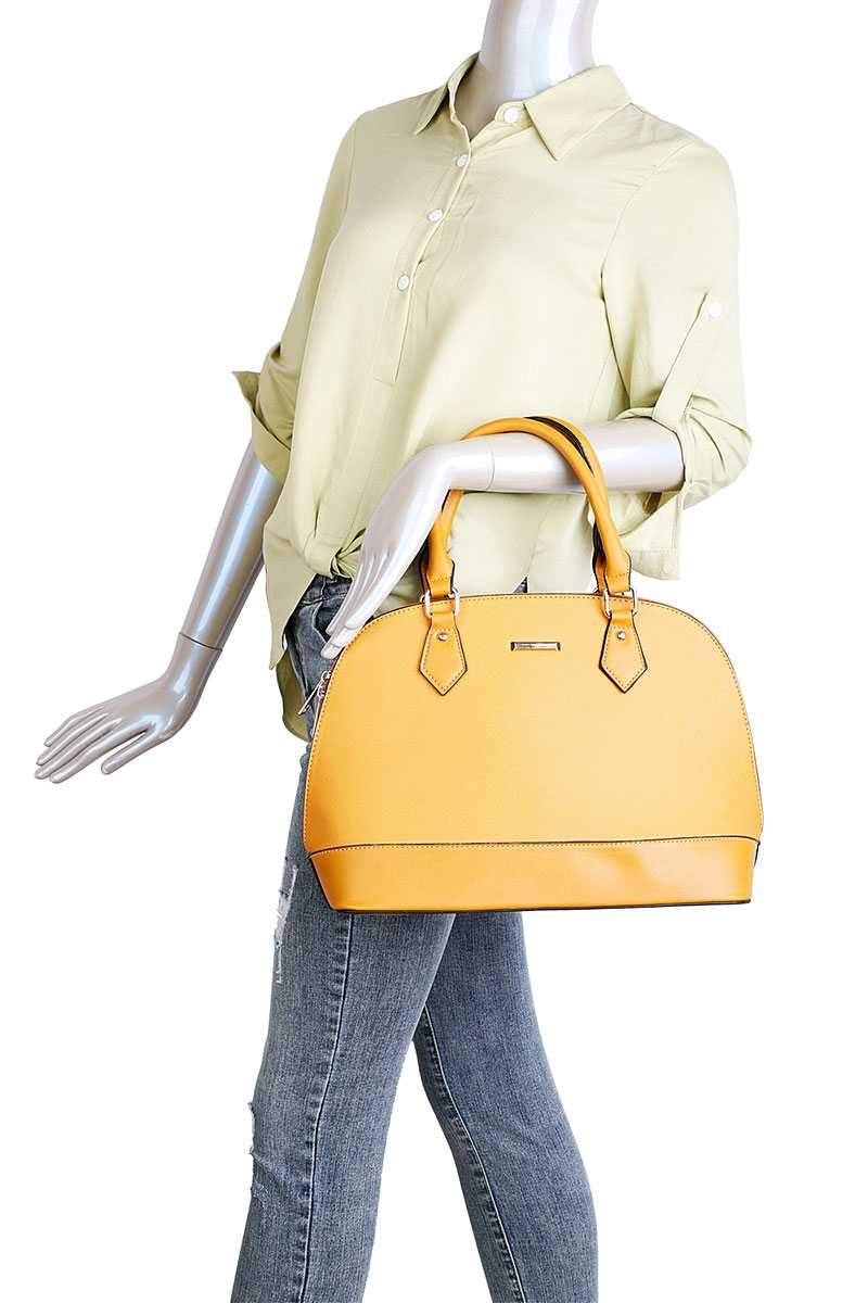 3 in 1 Domed Satchel Bags And Clutch Set