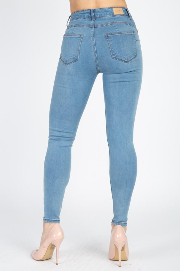 High Rise Denim Jeans
