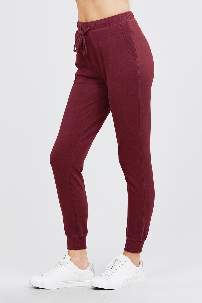 French Women's Terry Joggers