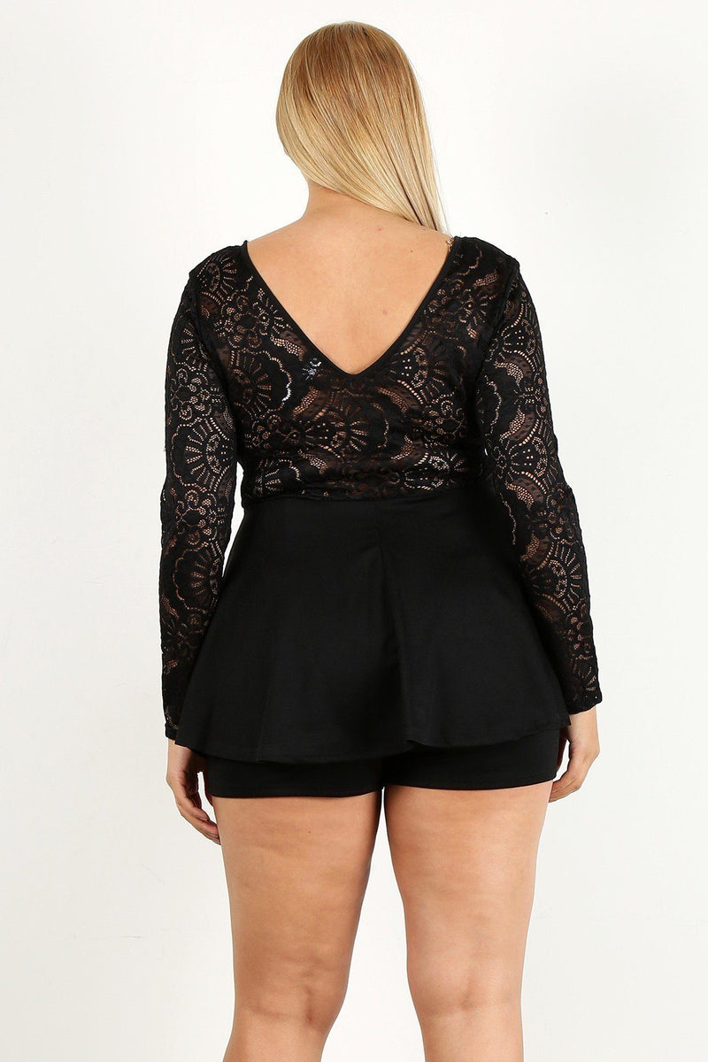 Lacey Romper Dress