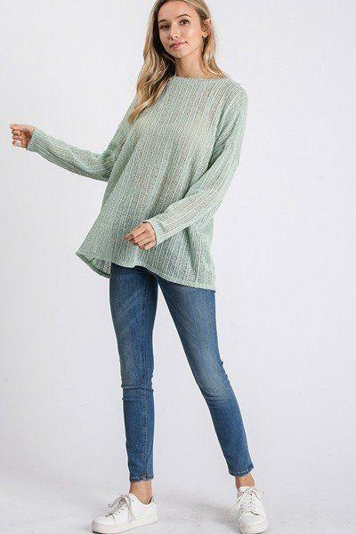 Open Breeze Long Sleeve Top