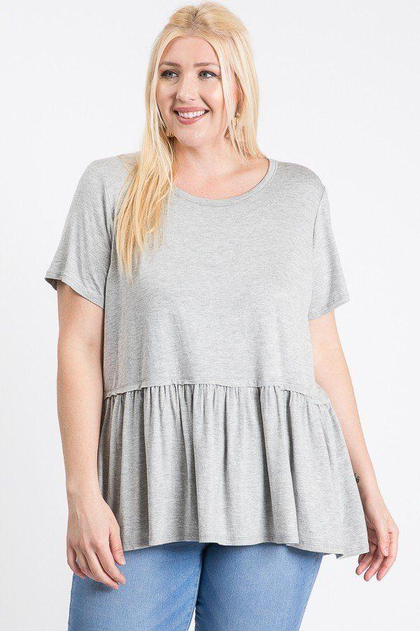 Babydoll Short Sleeve Top