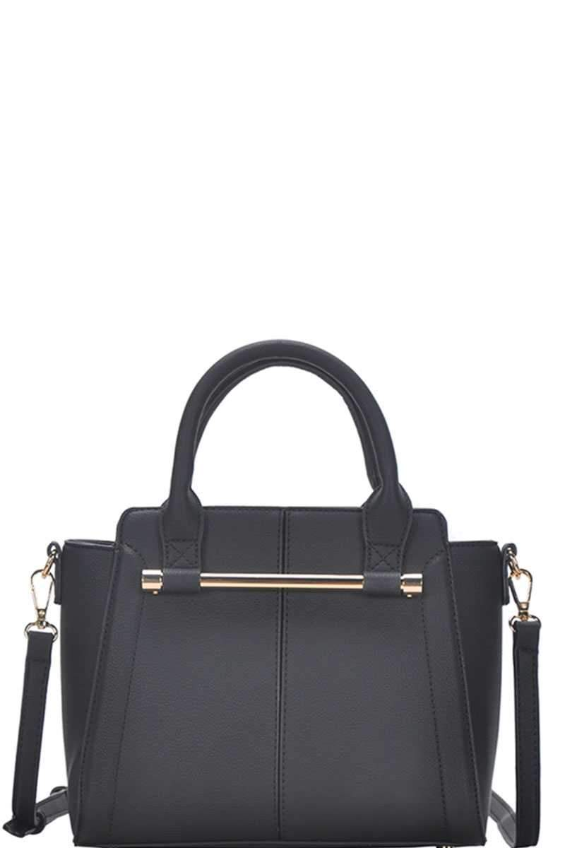Black Chic Fashion Stylish Satchel Bag