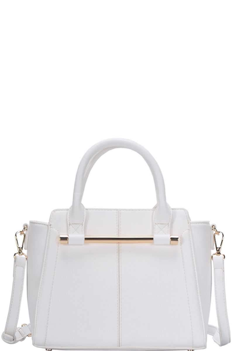White Chic Fashion Stylish Satchel Bag