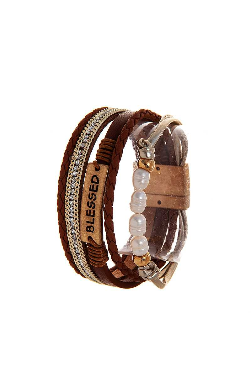 Stylish Multi Layer Blessed Bracelet