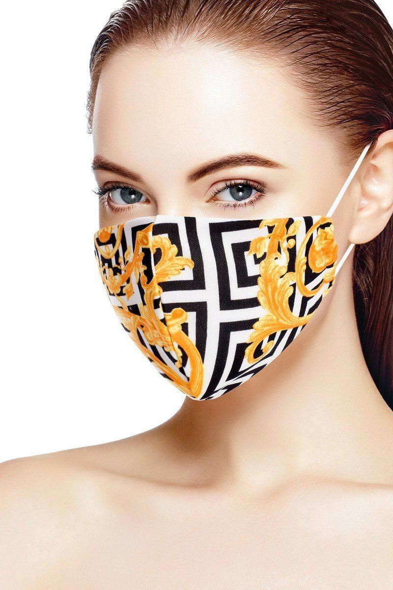 3d Reusable Water Resistant Face Mask