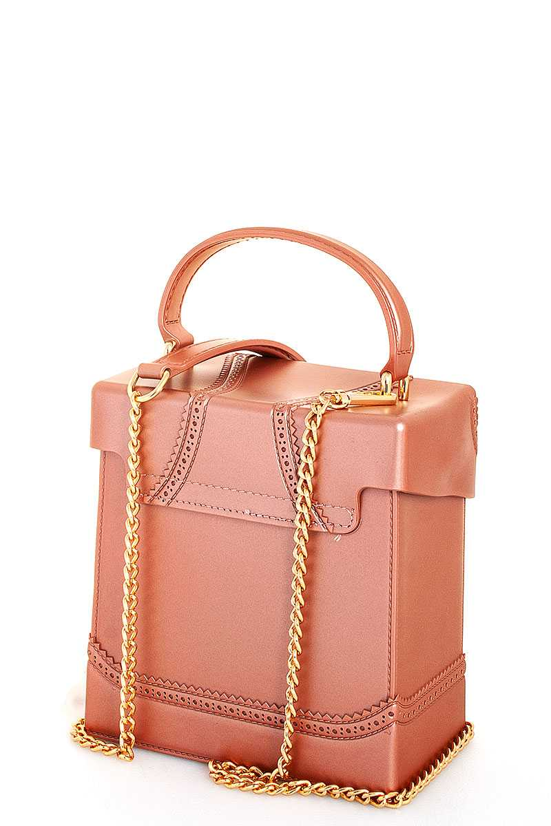 Stylish Cute Square Tender Jelly Crossbody Bag