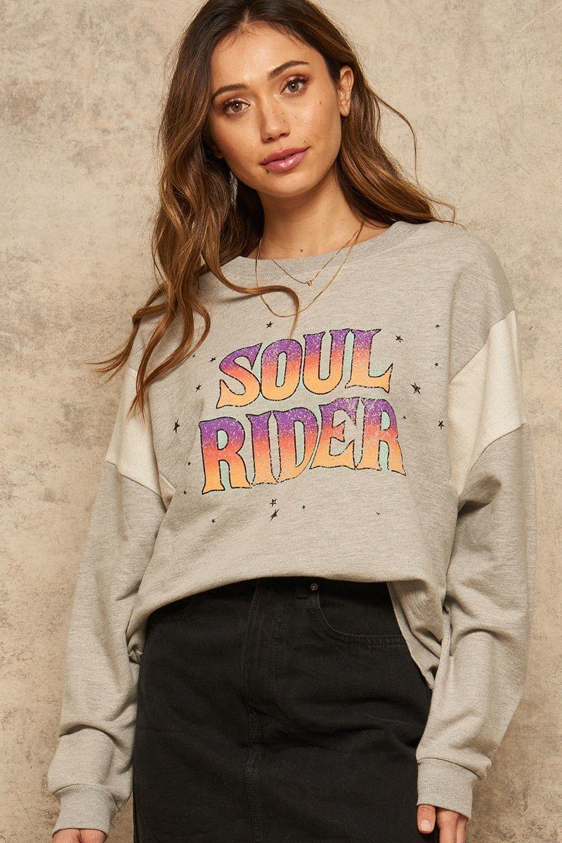 Soul Rider French Terry Sweatshirt