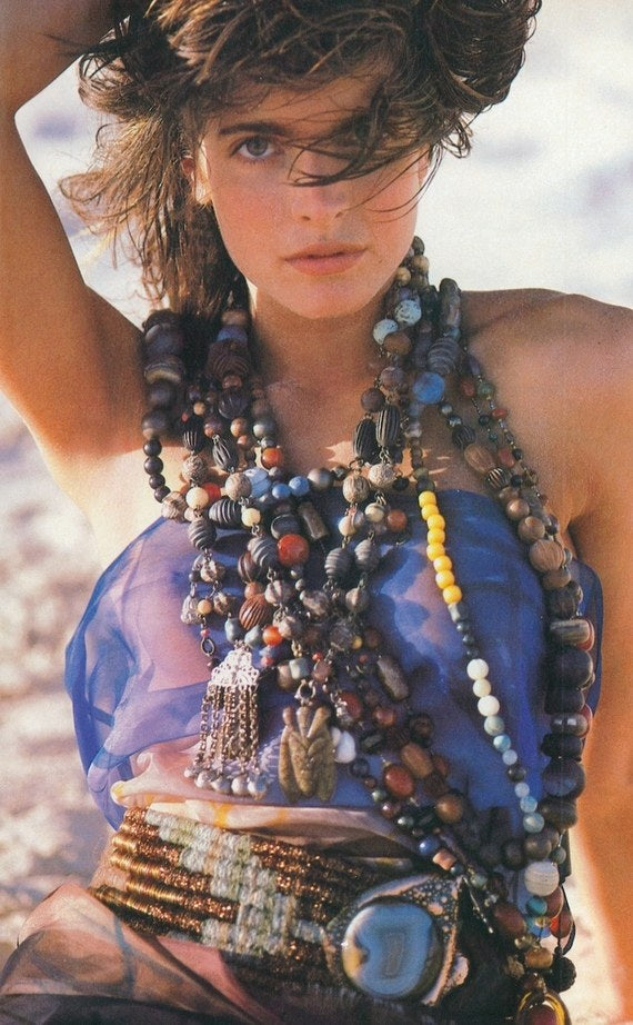 Summer Style Tip: Layer Your Jewelry At The Beach