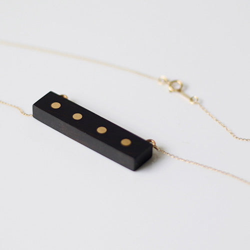 unique Gold Wood Pendant Necklace Handmade Jewelry Accessories Women