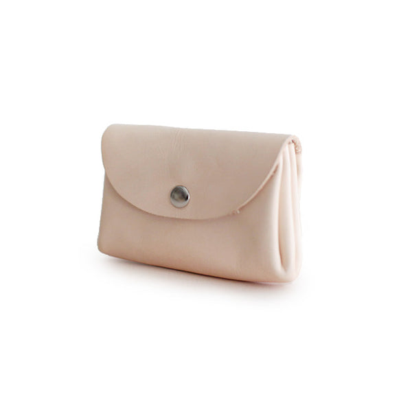 Handmade Womens Leather Coin Purse Card Wallet Purses for Women