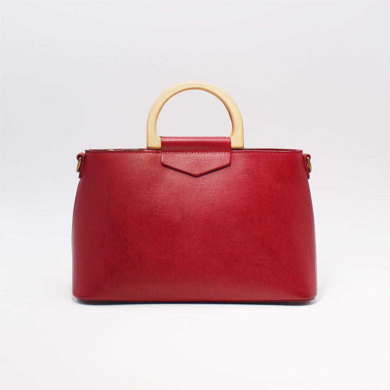 Unique Womens Red Leather Handbags Crossbody Bags Purse for Women ...