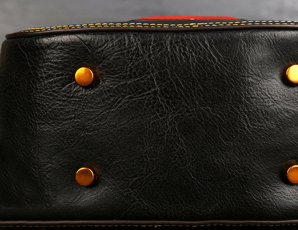 Women Genuine Leather Circle Bag details