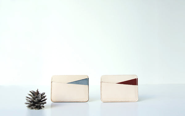 Ladies Slim Leather Card Wallet Cute Card Holder Wallets for Women