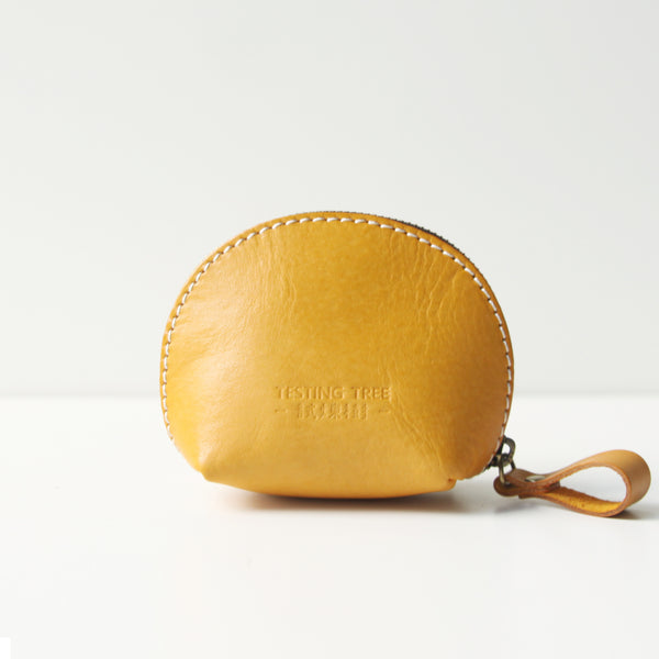 Small Shell Bag Womens Leather Coin Purse Coin Wallet Purse for Women