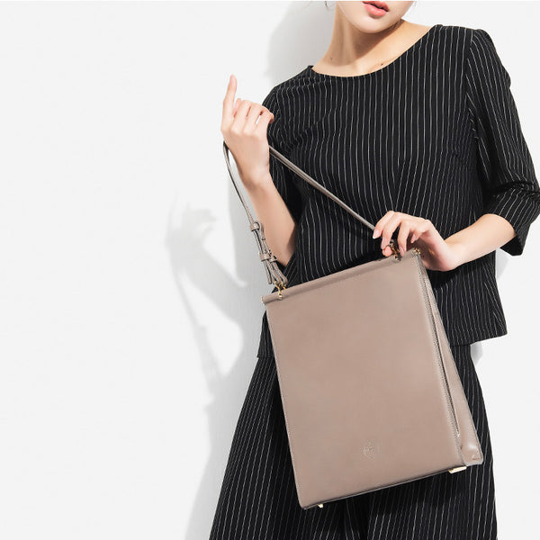 Stylish Womens Totes Handmade Leather Handbags Shoulder Bag for Women