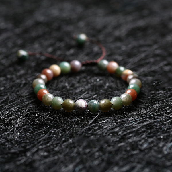 Agate Beaded Bracelets Handmade Jewelry Accessories Gift Women Men chic