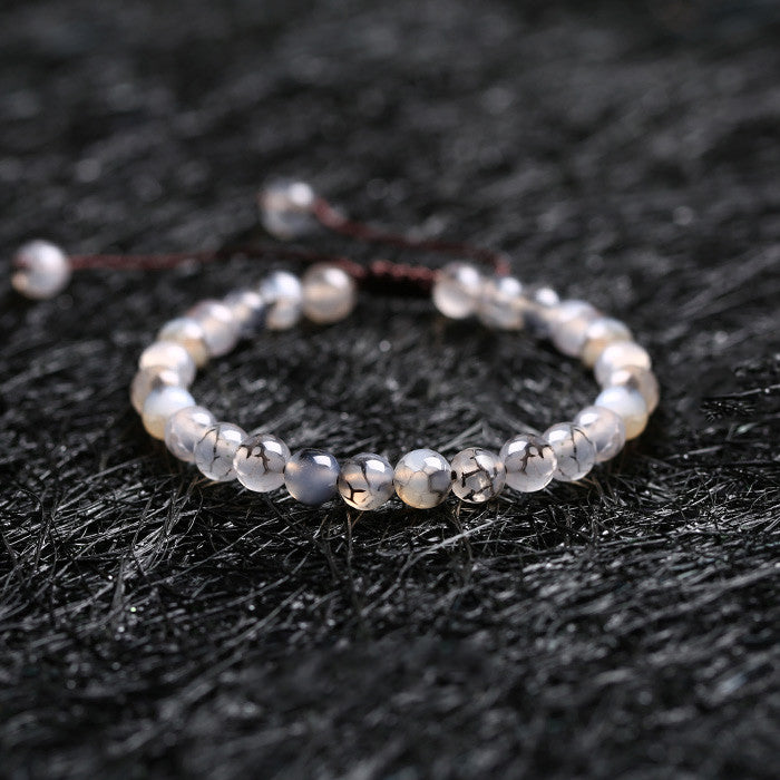 Agate Beaded Bracelets Handmade Jewelry Accessories Gift Women Men