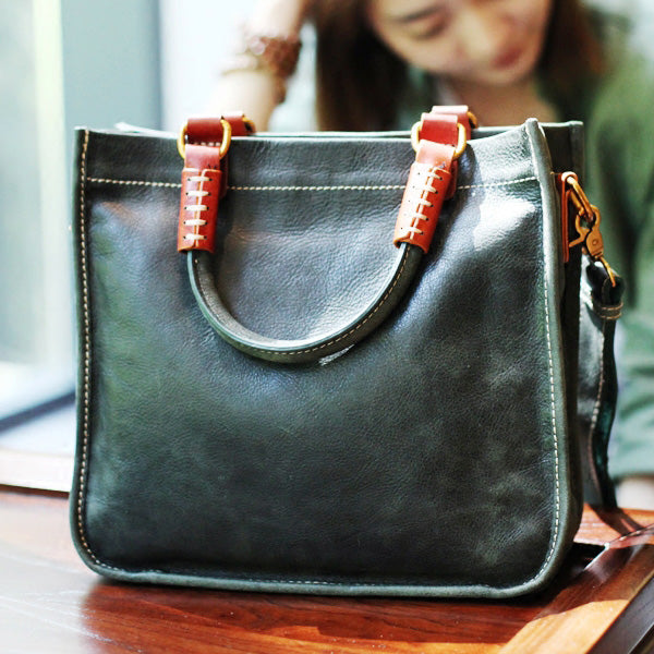 Brown Leather Totes Womens Unique Handbags Crossbody Bags for Women beautiful