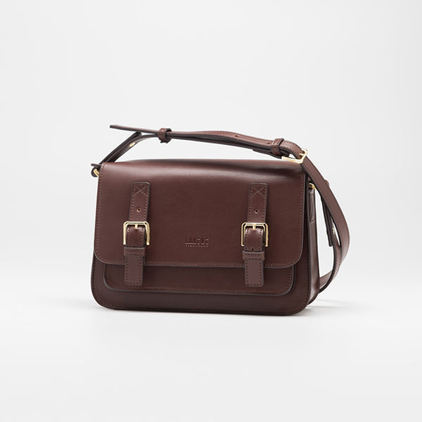 Brown Leather Womens Leather Crossbody Bags Satchel Bag for Women Accessories