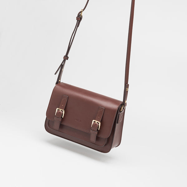 Brown Leather Womens Leather Crossbody Bags Satchel Bag for Women best