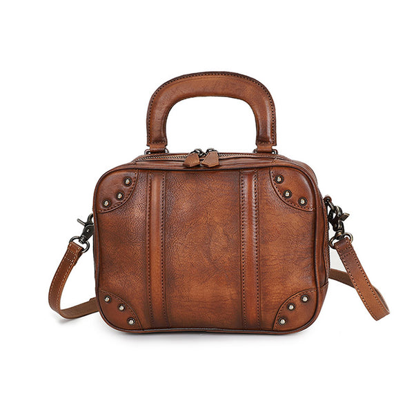 Brown Womens Designer Leather Handbags
