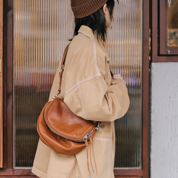 Casual Ladies Leather Over the Shoulder Bag Purse Side Bags For Women Accessories