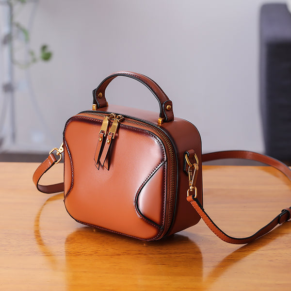 Chic Cube Bag Womens Leather Crossbody Bags Shoulder Bag for Women Accessories
