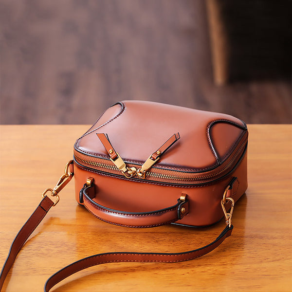 Chic Cube Bag Womens Leather Crossbody Bags Shoulder Bag for Women best