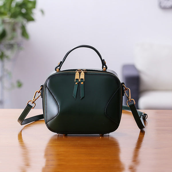 Chic Cube Bag Womens Leather Crossbody Bags Shoulder Bag for Women fashion