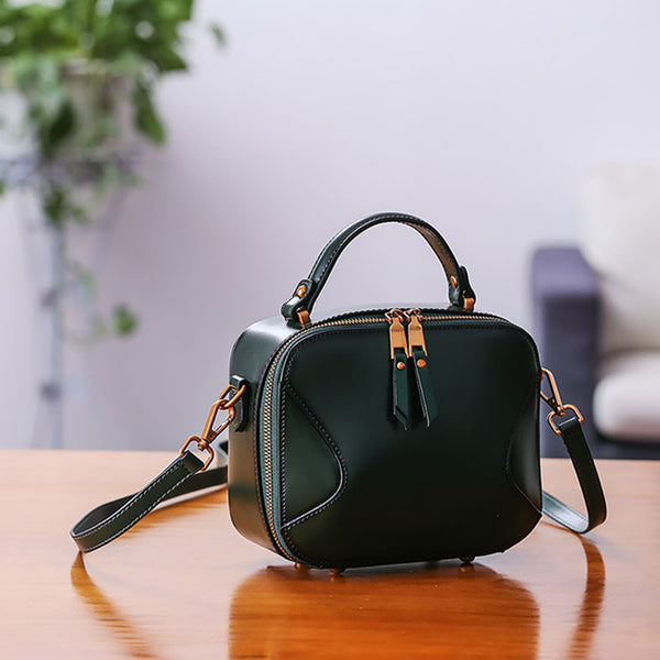 Chic Cube Bag Womens Leather Crossbody Bags Shoulder Bag for Women gift