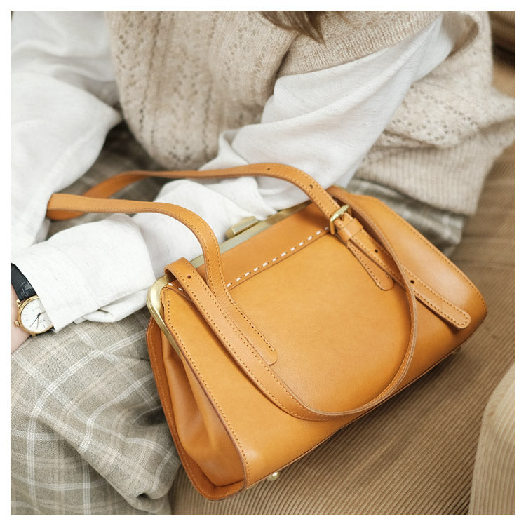 Chic Ladies Genuine Leather Cross Shoulder Bag Handbags For Women Accessories