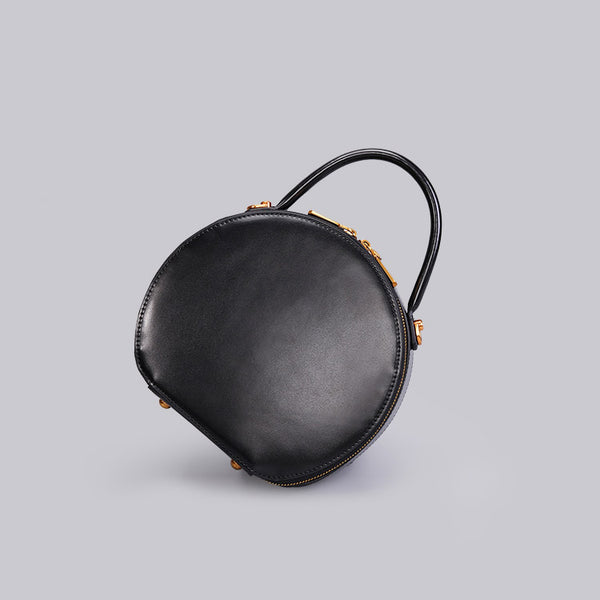 Chic Women Leather Circle Bag Crossbody Bags Handbags Purses for Women gift