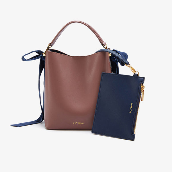 Chic Womens Bucket Bag Leather Handbags Crossbody Bags for Women Boutique