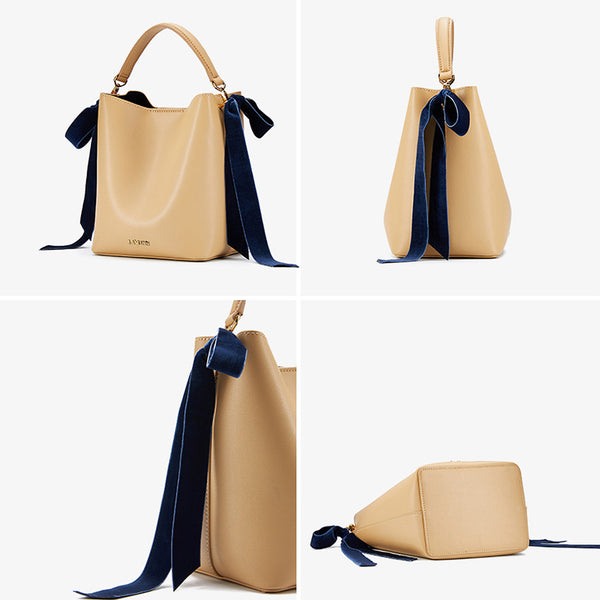 Chic Womens Bucket Bag Leather Handbags Crossbody Bags for Women gift