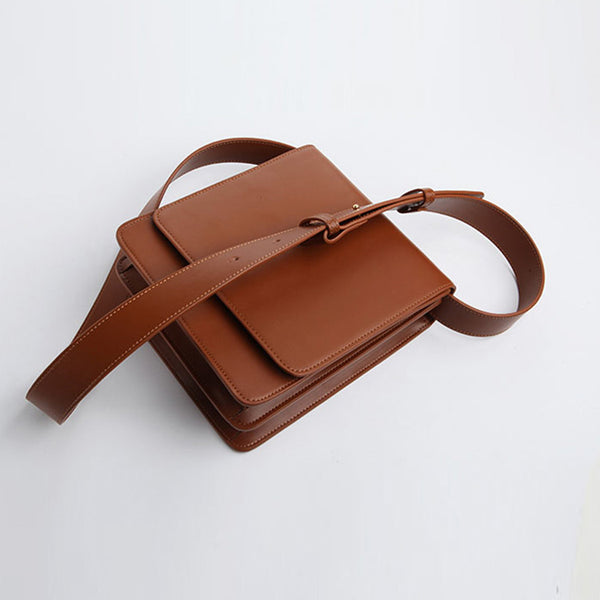 Chic Womens Flap Bag Leather Satchel Bag Crossbody Bags for Women gift