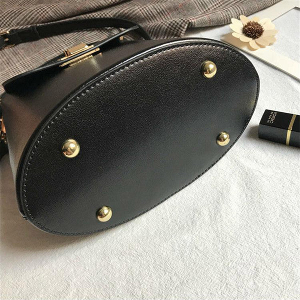 Chic Womens Leather Crossbody Bags Leather Handbags for Women Genuine Leather