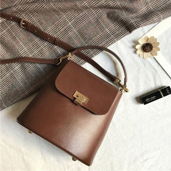 Chic Womens Leather Crossbody Bags Leather Handbags for Women best