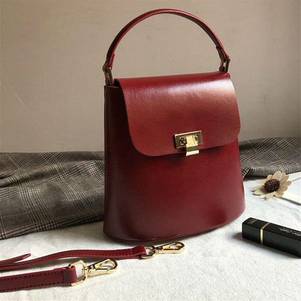 Chic Womens Leather Crossbody Bags Leather Handbags for Women cool