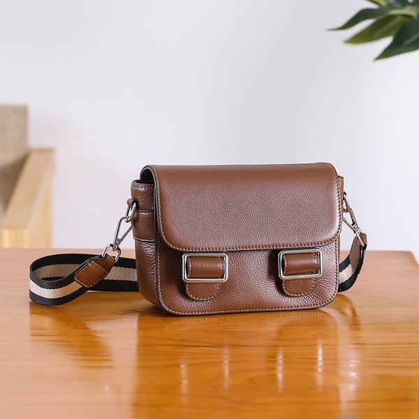 Chic Womens Leather Satchel Bag Crossbody Bags Purse for Women beautiful